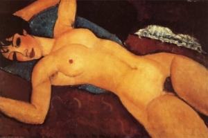 Nu couché - Modigliani